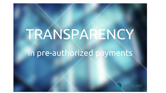 transparency in payments