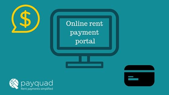 online rent payment portal