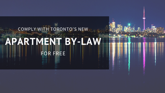 How to comply with Toronto's new Apartment By-Law