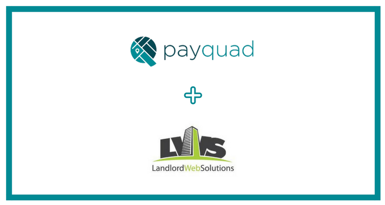 Payquad solidifies partnership with Landlord Web Solutions