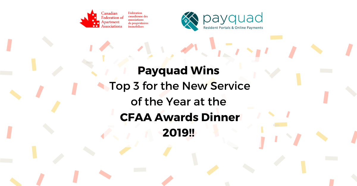 My Portal by Payquad Wins Top 3 at CFAA
